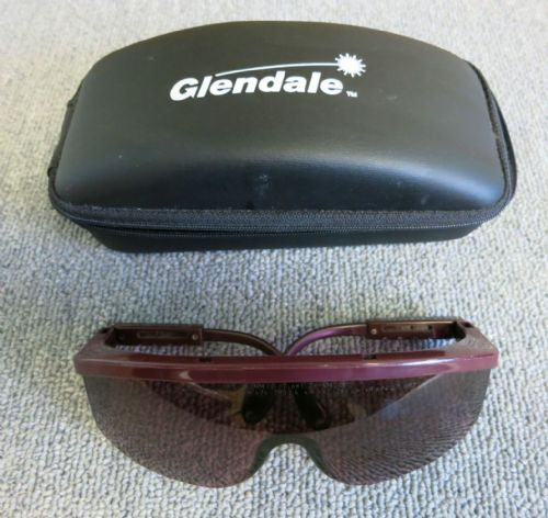 Glendale 31-4005 Ruby Plus Purple Lasers Safety Glasses